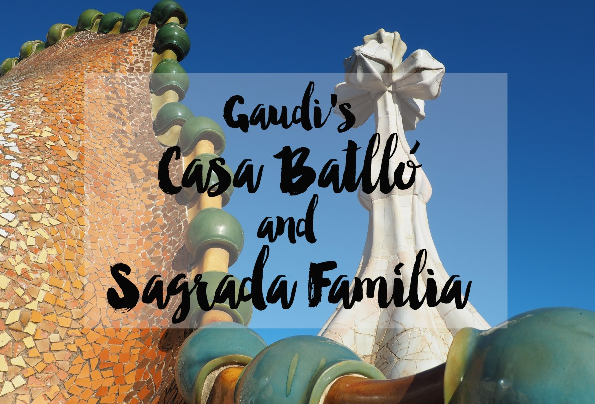 Gaudi's Casa Batlló and the Sagrada Família