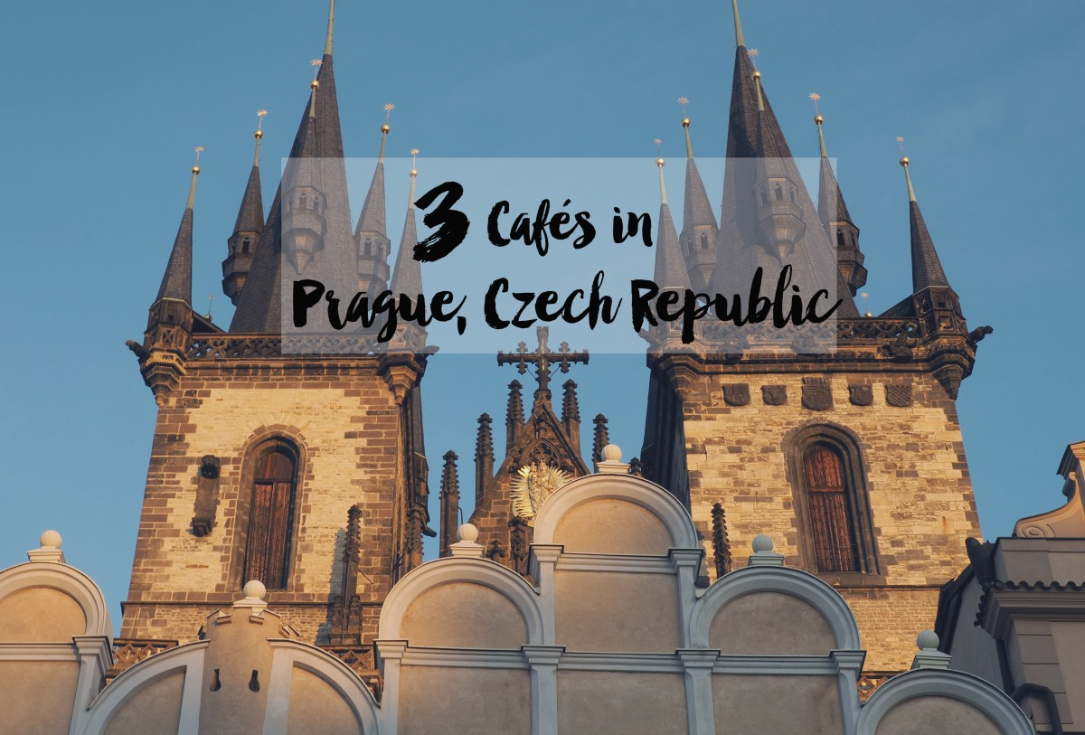 3 Cafes in Prague