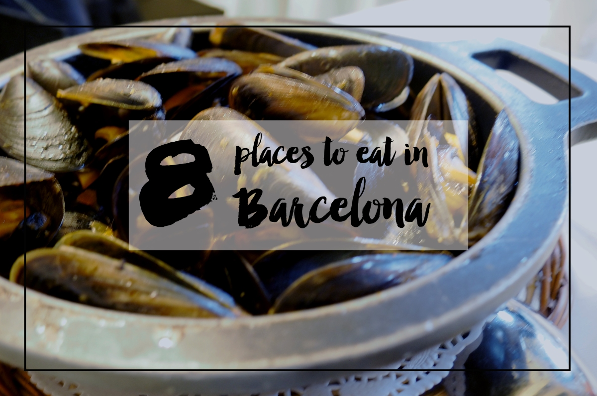 8 places to eat in Barcelona